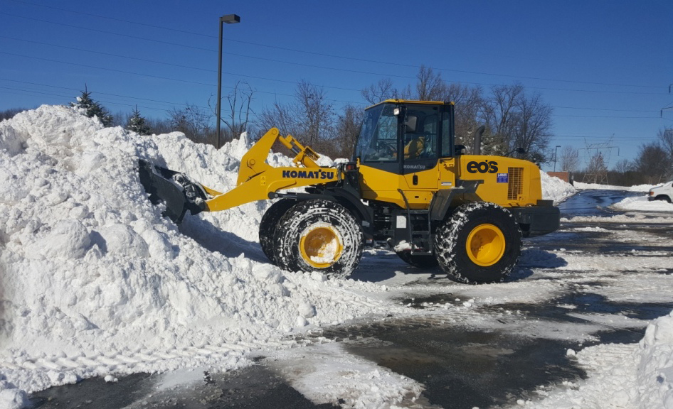 Snow Removal Services by Eos Outdoor Services